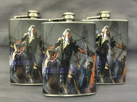 Set of 3 George Washington Zombies D 9 Flasks 8oz Stainless Steel Hip Dr... - $17.38
