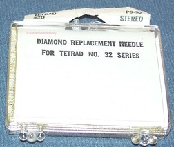 Tetrad 12D 32D 3-12D 5-32D replacement STYLUS NEEDLE L855-DS73 PS-92 image 2