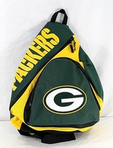 Green Bay Packers NFL Sling Backpack Teardrop Green/Yellow - ₹2,550.42 INR
