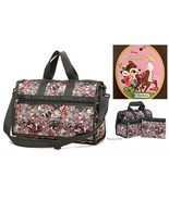 LeSportsac Disney Bambi & Friends Everyday Bag/Small Weekender Free Ship... - $88.16
