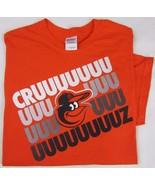 MLB Baltimore Orioles Nelson Cruz Orange Graphic T Shirt 100% Cotton siz... - $15.00