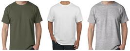 Hanes Men's Professional Grade T-Shirt Crew Neck Tee Shirt Short Sleeve 2-Pack