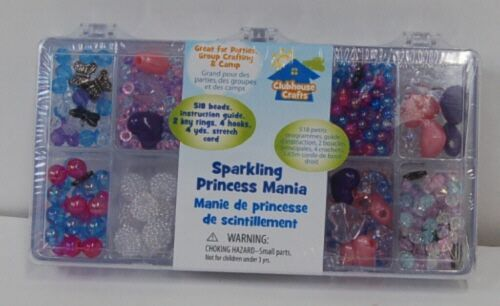 Clubhouse Crafts SUL8900230 Sparkling Princess Mania 518 Beads