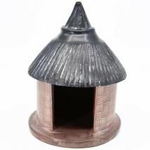 Vaneal Group Hand Carved Kisii Soapstone Nativity Set w Hut Manger Made in Kenya image 2