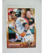 Adam Jones Baltimore Orioles 2015 Topps Baseball Card 19 - $0.98