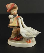 Antique Goose Girl Hummel Goebel Figurine 47/0 Germany - $75.95