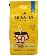 Gevalia, Ground Coffee, House Blend, 12oz Bag (Pack of 2) - $23.02