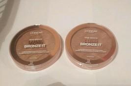 Set of 2: L'Oreal True Match Lumi Bronze It Bronzer 03 Deep Profond - $10.89