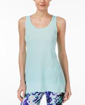 Calvin Klein Performance Tank Top, Aquamarine, Sz. Small - $25.81