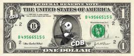 JACK SKELLINGTON on REAL Dollar Bill Nightmare before Christmas Disney C... - $8.88