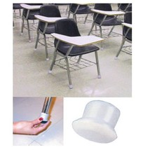 Slip On Slider Chair Leg Caps - Rubber With Gli... - $6.99 - $7.99