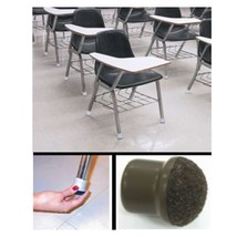 Slip On Felt Chair Leg Caps - Rubber With Felt ... - $5.99 - $7.99