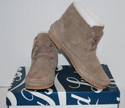 Lucky Brand Camella Women's Ankle Boot Suede Leather Brindle Color (NEW)... - $43.55