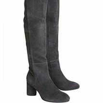 Stuart Weitzman Eloise 75 Suede Boots Grey - $391.05