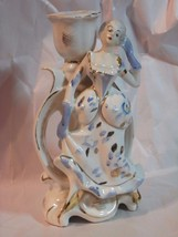 Royal Sealy Japan Victorian Lady Candle Stick Holder - $17.33