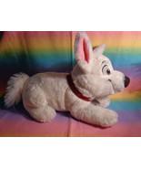 "Disney Store Bolt Lying Down Puppy Dog Plush Soft Animal w/ Collar 15"" - $17.77"