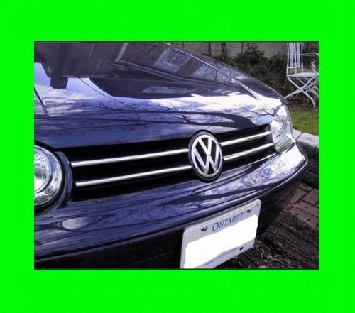 Primary image for 1999-2005 VOLKSWAGEN VW GOLF GTI CHROME GRILL GRILLE KIT MK4 MKIV 2000 2001 2...