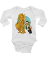 Winnie the Pooh Chewbacca Tigger Hans Solo Star Wars Onesie Long or Shor... - $13.99