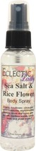 Sea Salt and Rice Flower Body Spray - $6.78+