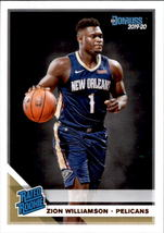 Zion Williamson 2019-20 Donruss Rated Rookie Card #201 - $8.00