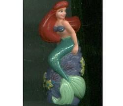 Disney GLITTER PRINCESS PVC figures ARIEL/Cinde... - $18.00