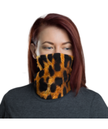 Tiger face cover/  tiger Neck Gaiter / Fabric Neck Gaiter   - $29.00