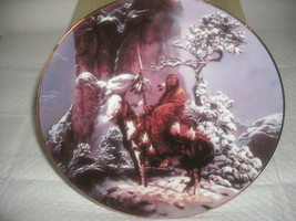 MYSTIC WARRIOR COLLECTOR PLATE FROM THE HAMILTON COLLECTION - $5.50