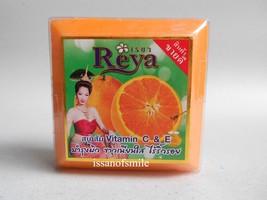 Thai Natural Herbal Orange Vitamin C & E Soap Anti Blemish Pimple 170g. - $8.00