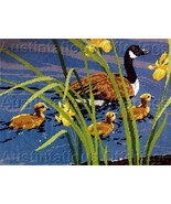 Reinardy Canada Goose Family Needlepoint Kit Mother Goslings - $48.00