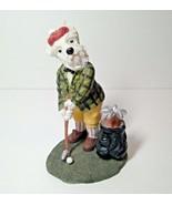 Macduff the Golfer - Dog Figurine - Dog Days Collection 1997 Dezine LTD... - $25.99
