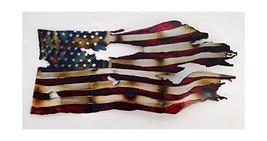 Waving Tattered Flag (Torch) Americana - $174.42