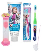 "Disney Frozen ""Anna"" Inspired 3pc Bright Smile Oral Hygiene Set! Soft Ma... - $21.99"