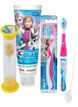 "Disney Frozen ""Elsa"" 3pc Bright Smile Oral Hygiene Set! Soft Manual Toot... - $21.99"