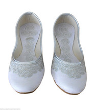 Women Shoes Indian Handmade Traditional Leather Ballerinas Mojari US 7 - £20.21 GBP