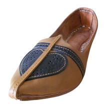 Men Shoes Indian Handmade Traditional Espadrilles Genuine Leather Jutties US 10 - $39.99
