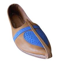 Men Shoes Indian Handmade Rajasthani Genuine Leather Espadrilles Mojaries US 12 - $39.99