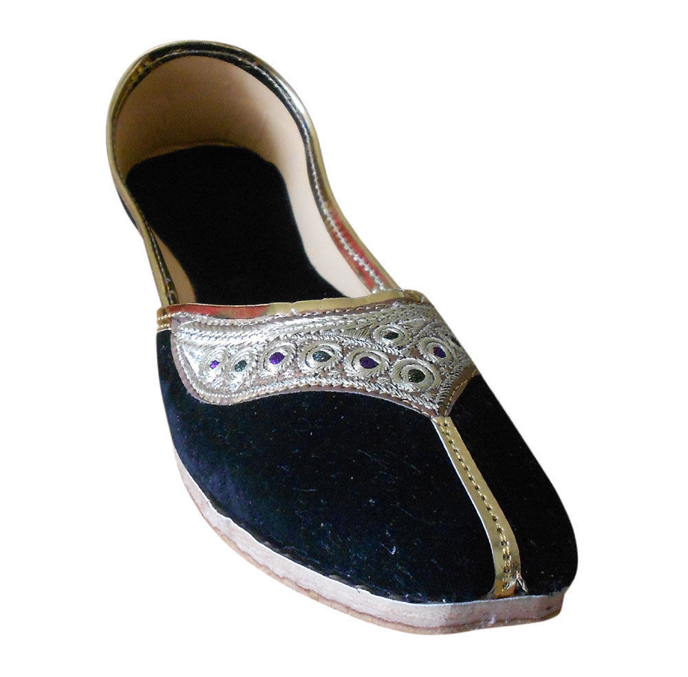 Primary image for Women Shoes Indian Handmade Traditional Leather Ballet Flats Mojaries US 6-12