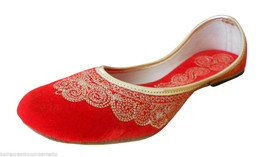 Women Shoes Indian Handmade Mojari Traditional Leather Ballerinas Jutti ... - £19.27 GBP