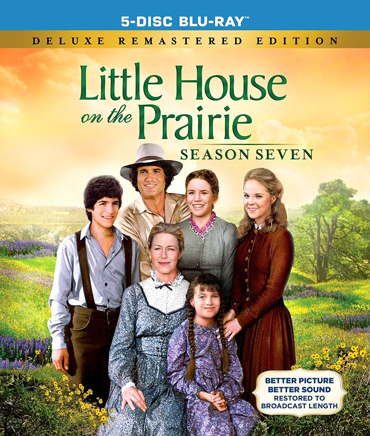 Little House on the Prairie Complete Seventh Season 7 Blu-Ray Disc New TV Series