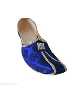 Men Shoes Indian Sherwani Handmade Wedding Khussa Loafers Mojari US 6 - $34.99