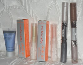 Mary Kay Velocity Lot Chill It Peach + Mint End to End Lip Eye Shimmerific Blue - $19.79