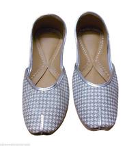 Women Shoes Indian Handmade Traditional Leather Flip-Flops Mojari US 5.5 - £22.64 GBP