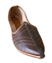 Men Shoes Indian Handmade Leather Casual Espadrilles Mojaries Flat US 7-10  - $34.99
