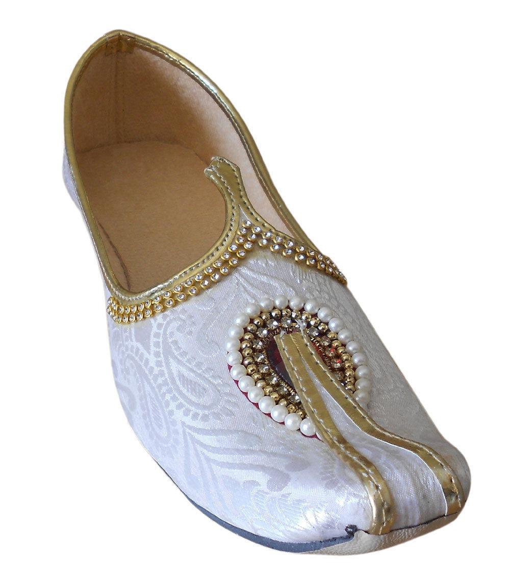db4398a3c49fe S l1600. S l1600. Mojaries Indian Wedding Handmade Flip-Flops Men Shoes  Khussa Flat US 6 7. Mojaries ...