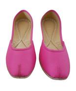 Women Shoes Indian Traditional Handmade Mojari Pink BalletFlats Jutti Fl... - £26.69 GBP
