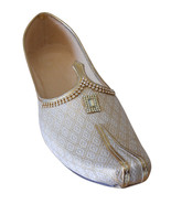 Jutti Indian Groom Flip-Flops Men Shoes Handmade Wedding Khussa US 6-12 - $49.99
