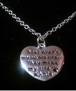 """""""Dog's aren't my whole life....They make my life whole"""" Heart Pendant Ne... - $7.99"""