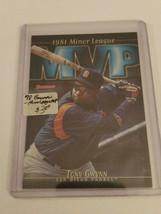 1998 Bowman Minor League MVP's #MVP4 Tony Gwynn : San Diego Padres - $1.76