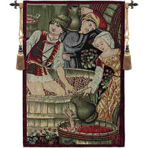 Le Pressoir Extrait European Tapestry Wall Hanging - $112.85