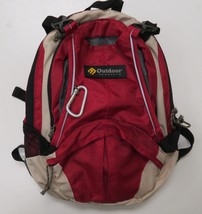 Outdoor Products Hydration Pack Backpack Hiking Biking Camping Red No Bl... - $304,62 MXN